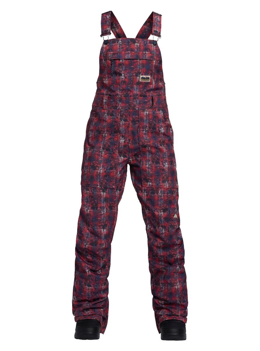 バートン 2019モデル ウィメンズ ビブパンツ Burton Avalon Bib Pant Nevermind Floral スノーボード