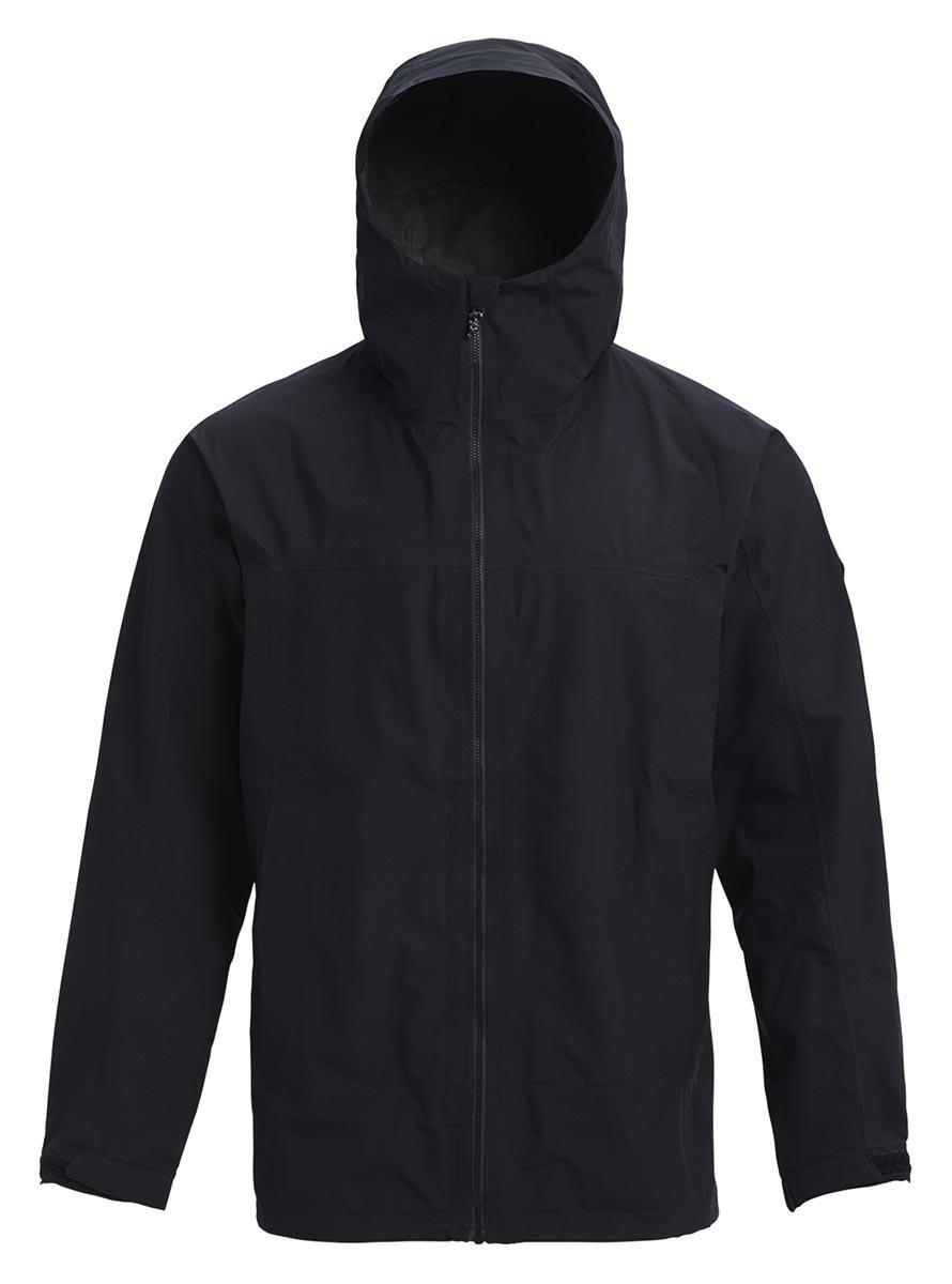 バートン 19モデル メンズ ゴアテックス ジャケット Burton GORETEX Packrite Rain Jacket True Black