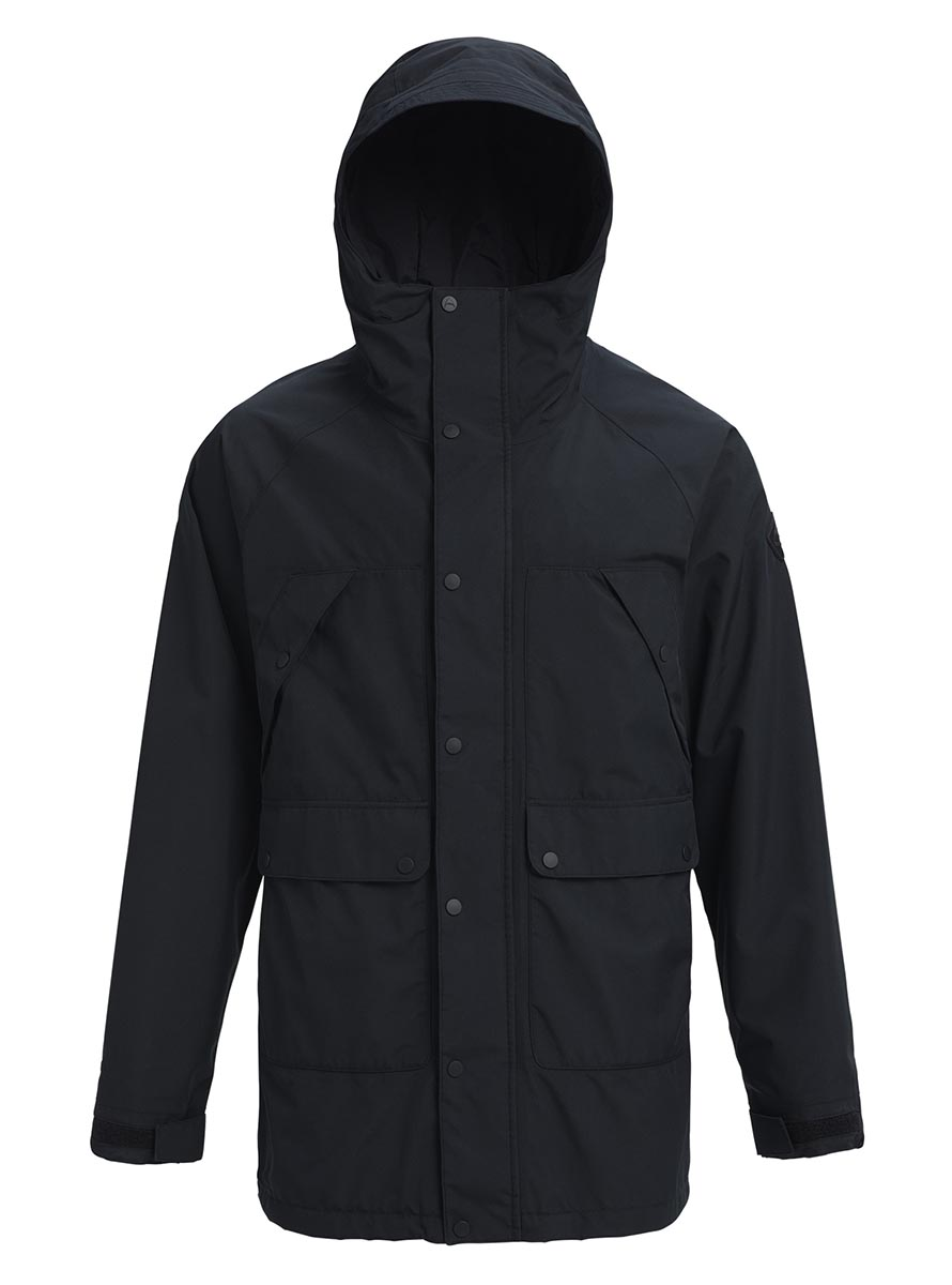 バートン 2019年モデル メンズ ウェア Burton GORETEX Vagabond Jacket True Black スノーボード