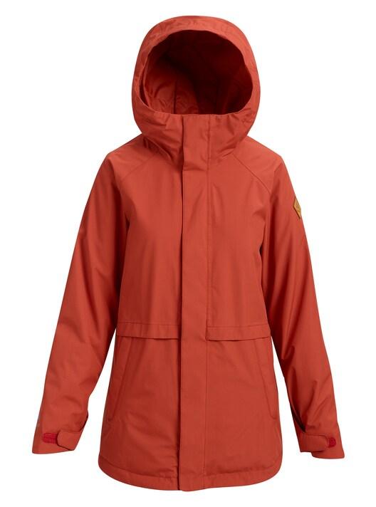 【日本正規品】 バートン 2019年モデル ウーメンズ ウェア Burton GORE‑TEX Kaylo Shell Jacket スノーボード ジャケット HOT SAUCE 赤