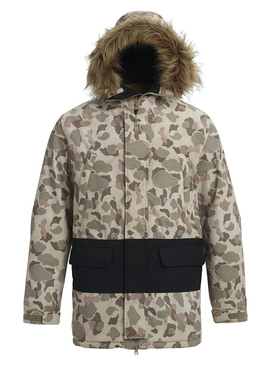 バートン 2019年モデル メンズ ウェア Burton Skylink Jacket Pastel Desert Duck / True Black スノーボード