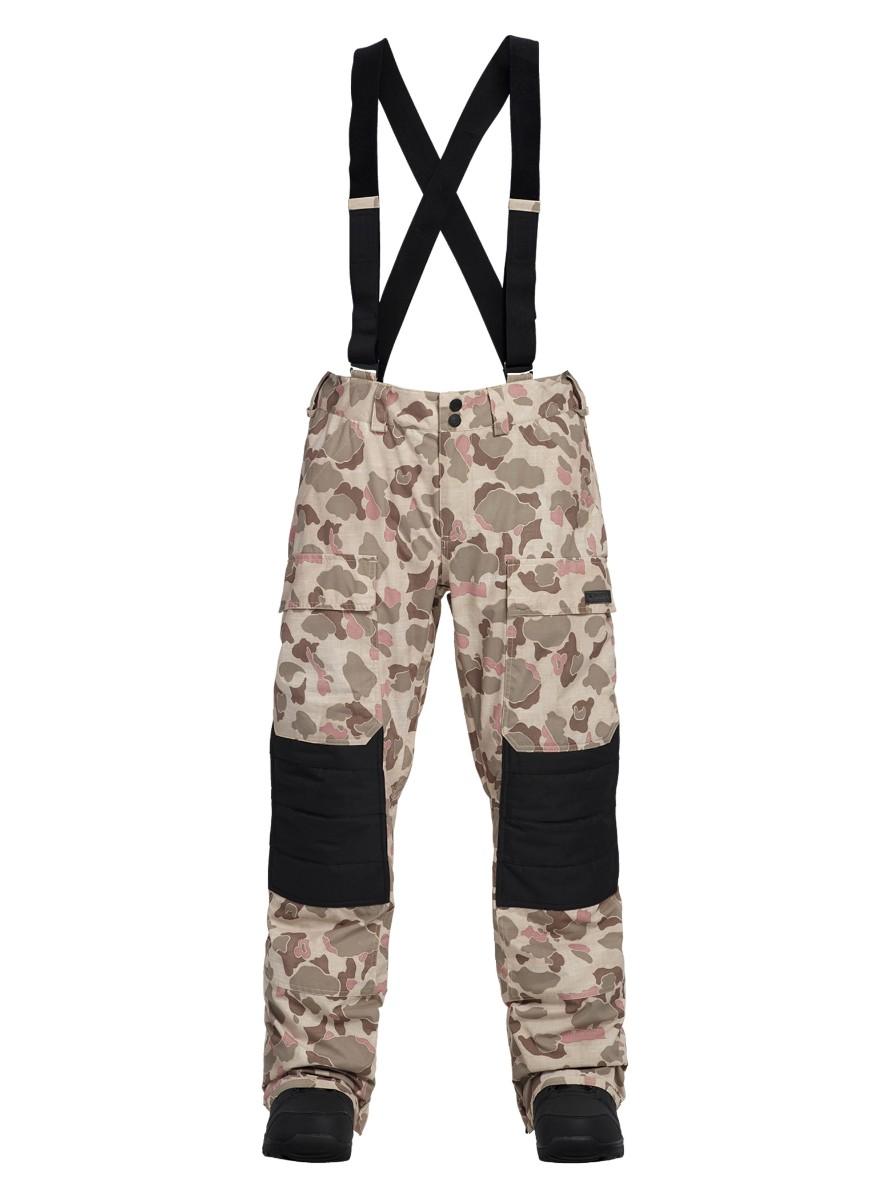 バートン 2019モデル メンズ ウェア Burton Vicker Pant Pastel Desert Duck / True Black Oxford スノーボード