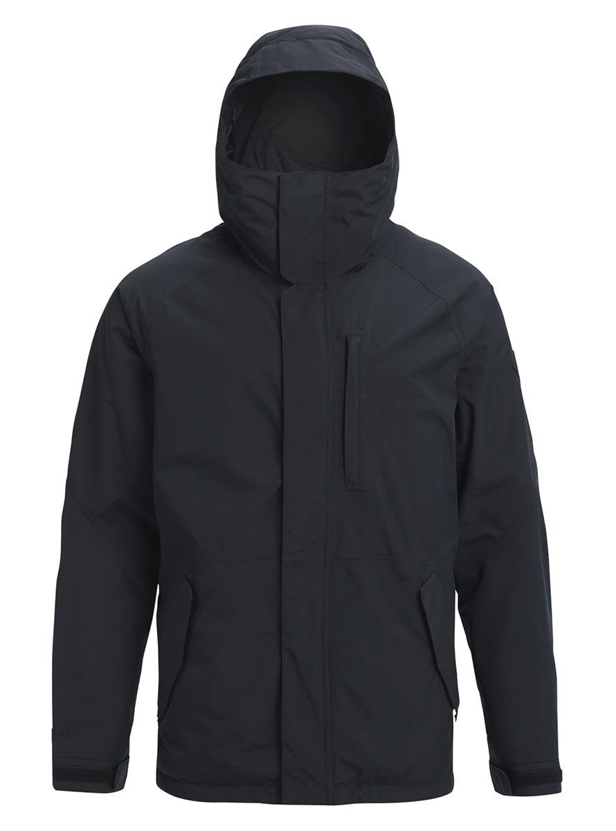 バートン 2019年モデル メンズ ウェア Burton GORETEX Radial Shell Jacket True Black スノーボード