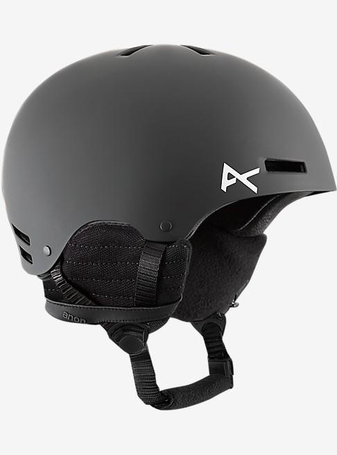 アノン 2019モデル ボーイズ プロテクター anon. Boys' Rime Helmet Black スノーボード