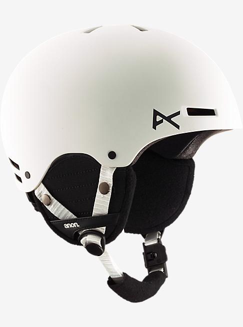 アノン 2017モデル ボーイズ プロテクター anon. Boys' Rime Helmet White スノーボード