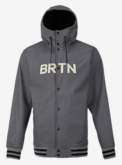 バートン 17モデル メンズ ジャケット Burton Capital Softshell Dark Ash Heather スノーボード