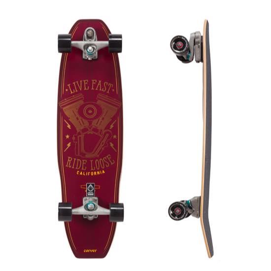 【人気No.1】 【CARVER】カーバーサーフスケート 35.5