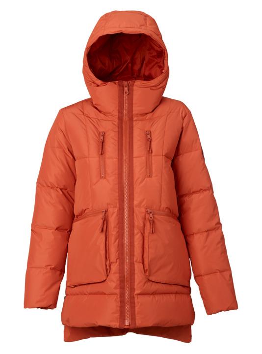 バートン 18モデル ウィメンズ ウェア Burton King Pine Down Jacket Persimmon スノーボード