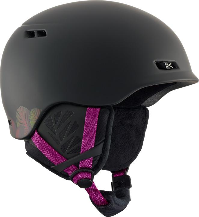 アノン 18モデル ウィメンズ ヘルメット Anon Griffon Helmet Black スノーボード
