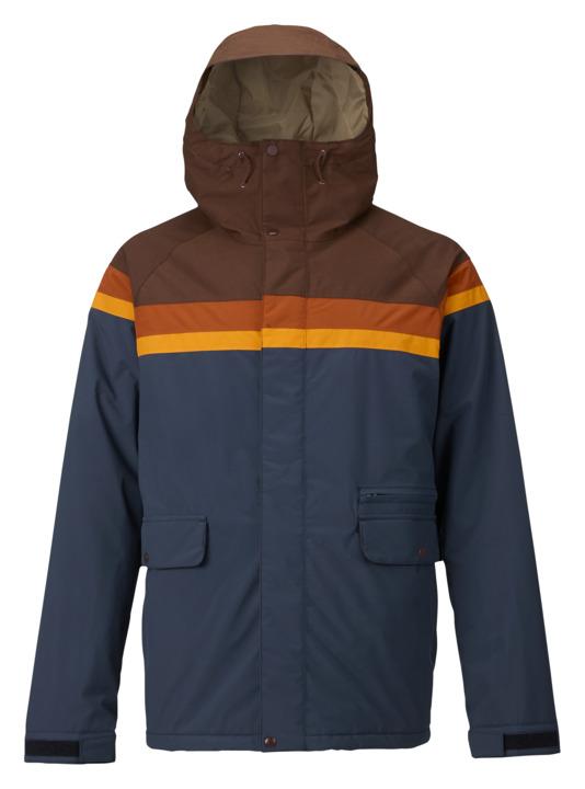 バートン 18モデル メンズ ウェア Burton Docket Jacket Chestnut Cord / Clay / Golden Oak / Mood Indigo スノーボード