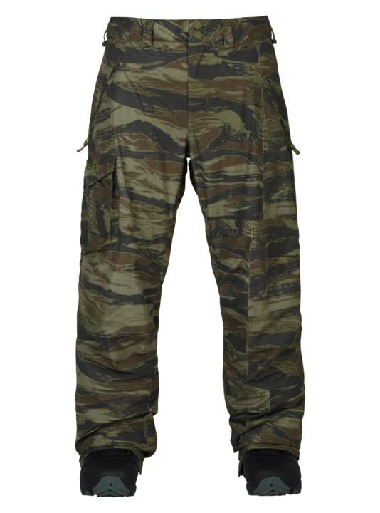 バートン 18モデル メンズ ウェア Burton Covert Pant Olive Green Worn Tiger スノーボード