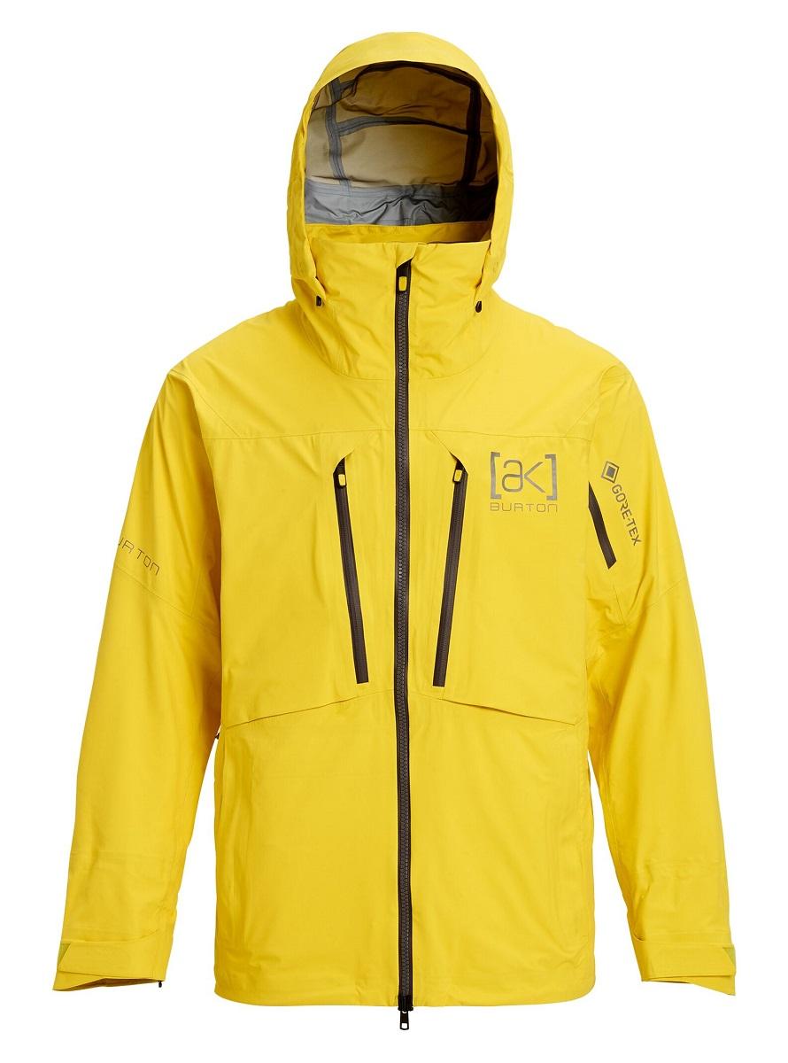 【日本正規品】 バートン 2020年モデル メンズ ウェア Burton [ak] GORE-TEX 3L Stretch Hover Jacket Maize スノーボード ゴアテックス ストレッチ ホバー ジャケット 黄色