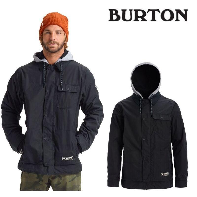 【日本正規品】バートン 2020モデル メンズ ウェア Burton Dunmore Jacket True Black スノーボード 黒 ブラック