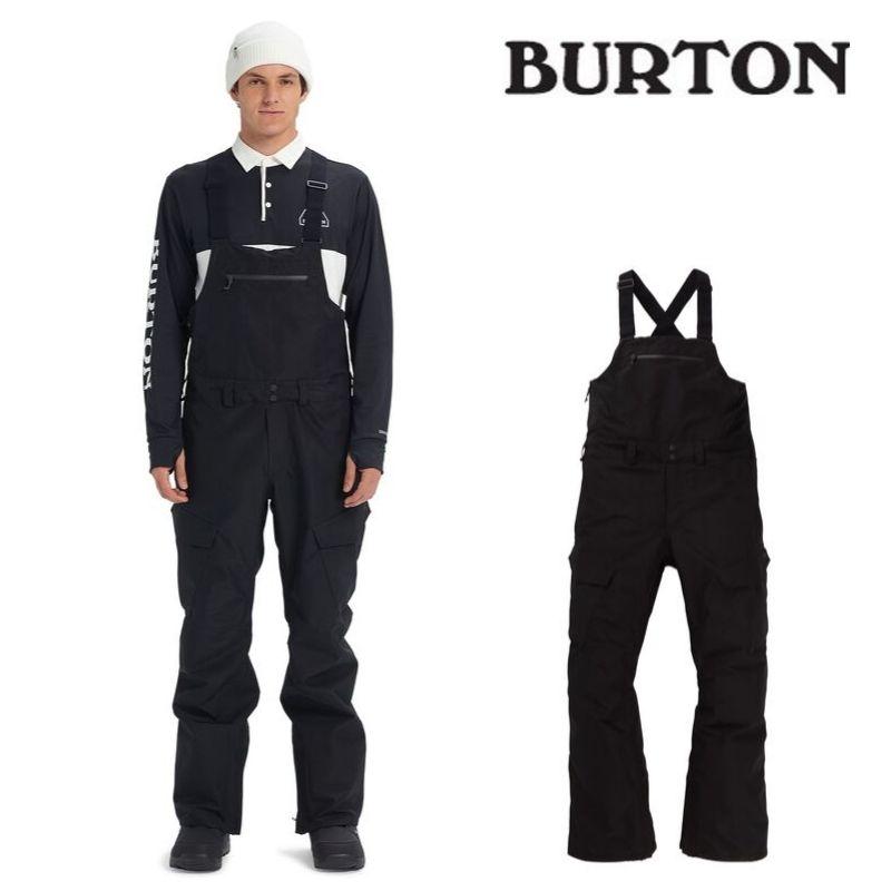 【日本正規品】 バートン 2020年モデル メンズ ウェア Burton GORE-TEX Reserve Bib Pant True Black ゴアテックス リザーブ ビブパンツ 黒