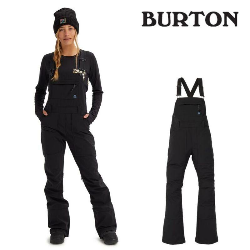 【日本正規品】バートン 2020モデル ウィメンズ ビブパンツ Avalon Softshell Bib Pant True Black スノーボード