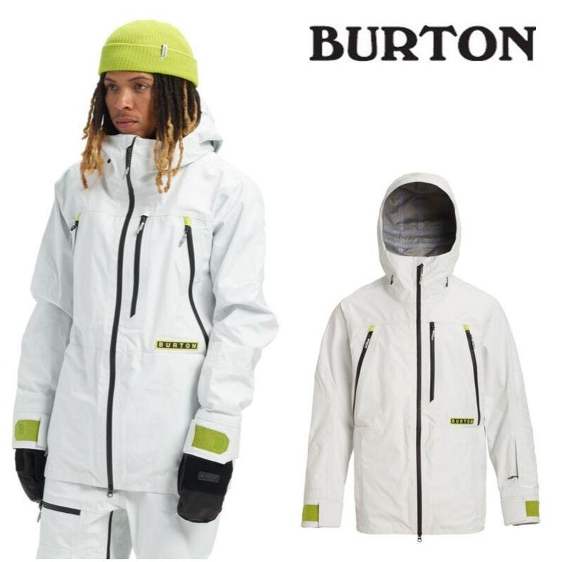 【日本正規品】 バートン 2020モデル メンズ ウェア Burton GORE-TEX 3L Frostner Jacket Stout White スノーボード ゴアテックス フロストナー ジャケット 白