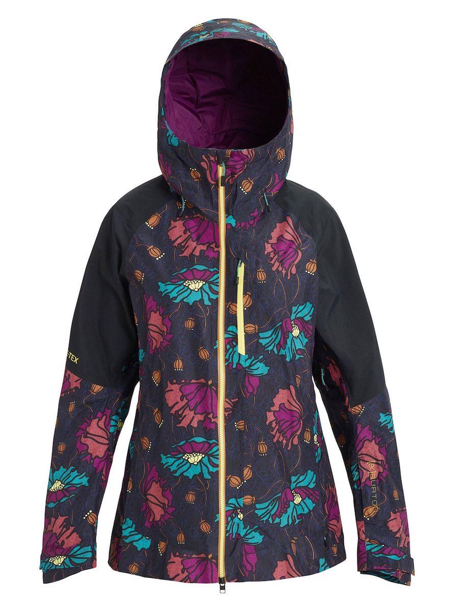 【日本正規品】 バートン 2020年モデル ウーメンズ ウェア Women's Burton [ak] GORE-TEX 2L Upshift Jacket スノーボード ジャケット Bona Flora / True Black