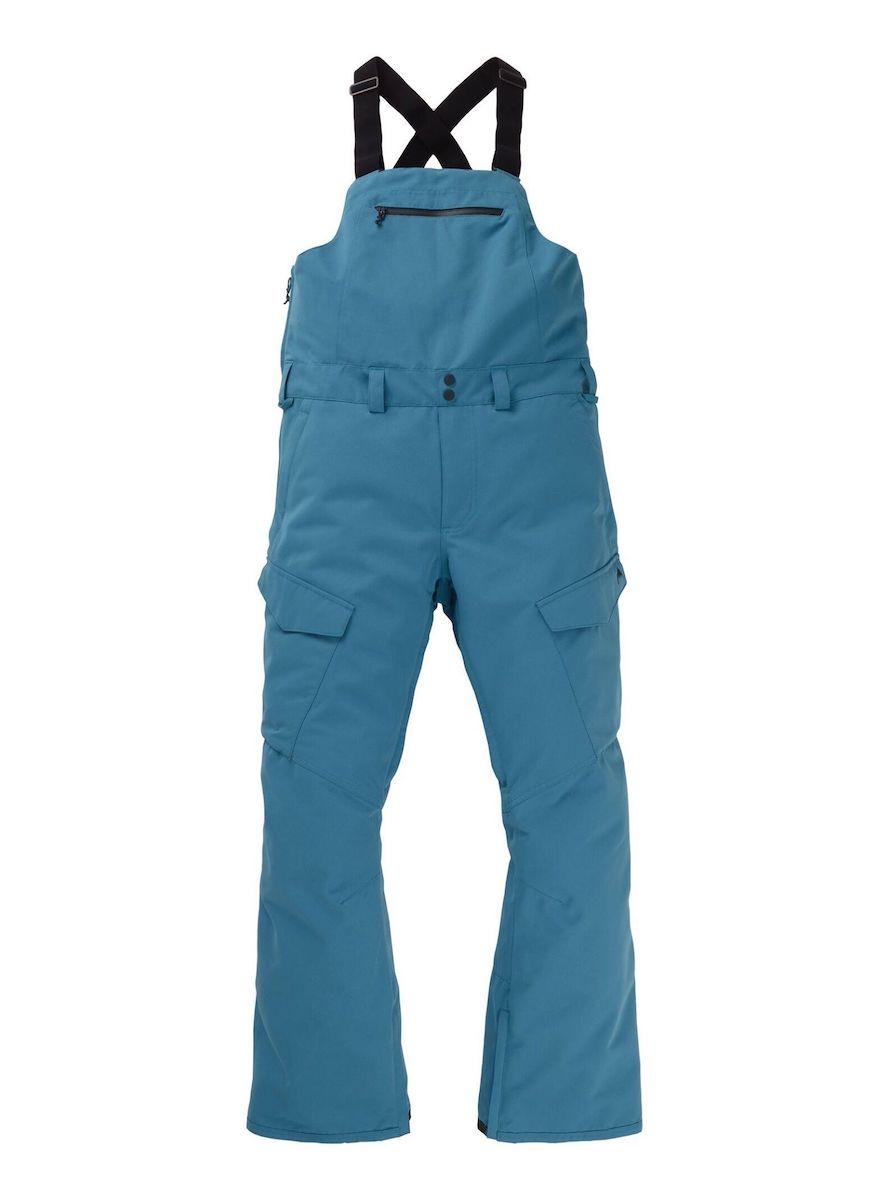 【日本正規品】 バートン 2020年モデル メンズ ウェア Men's Burton Reserve Bib Pant Pant Storm Blue リザーブ ビブパンツ