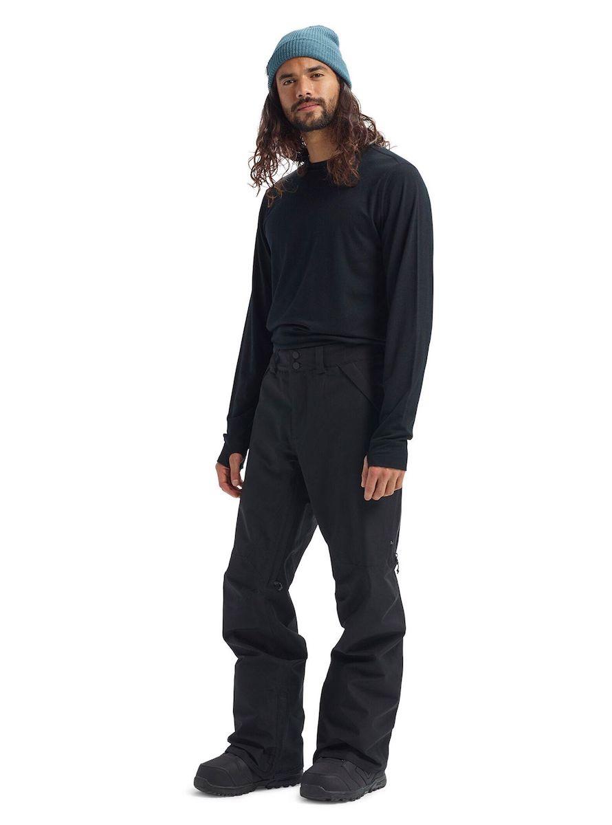 【日本正規品】 バートン 2020年モデル メンズ ウェア Men's Burton GORE-TEX Vent Pant True Black リザーブ ビブパンツ