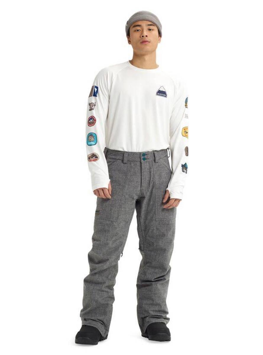 【日本正規品】バートン 2020年モデル メンズ ウェア Men's Burton Men's Burton GORE‑TEX Ballast Pant Bog Heather バラストパンツ