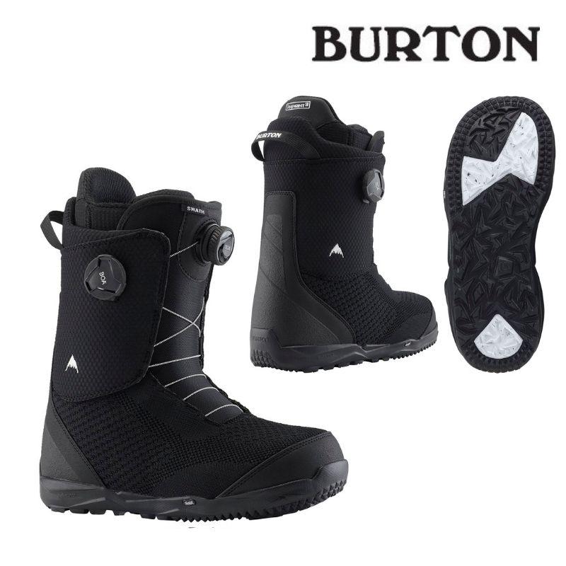 2020年モデル【日本正規品】バートン ブーツ 送料無料! 【日本正規品】BURTON バートン 2020モデル Burton Swath Boa#174; Black boot スノーボード ブーツ 黒 ブラック