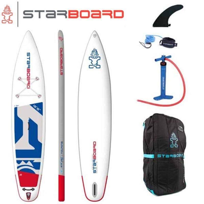 【送料無料】SUP インフレータブル サップ 2020 STARBOARD TOURING ZEN SINGLE CHAMBER 12'6