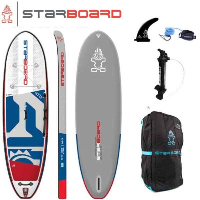 【送料無料】SUP インフレータブル サップ 2020 STARBOARD iGO DELUXE SINGLE CHAMBER 10'0