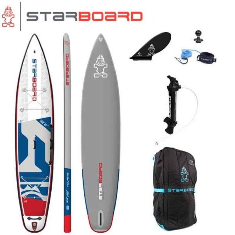 【送料無料】SUP インフレータブル サップ 2020 STARBOARD TOURING DELUXE SINGLE CHAMBER 14'0