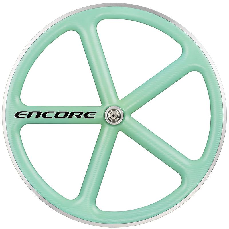 ピストバイク ホイール ENCORE WHEELS 700C FIXED GEAR WHEEL CELESTEアンコール ホイール 700C フィックスドギア ホイール チェレステ PISTBIKE