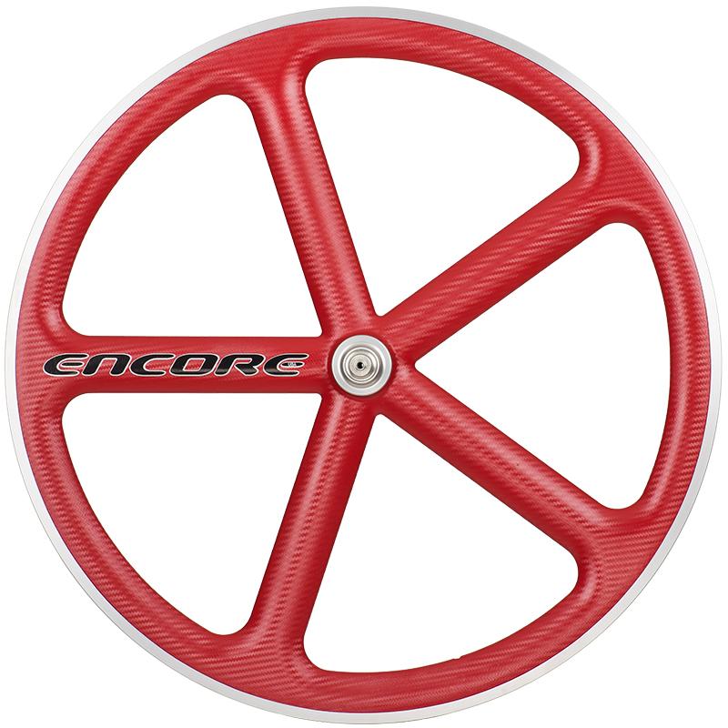 ピストバイク ホイール ENCORE WHEELS 700C FIXED GEAR WHEEL VIPER REDアンコール ホイール 700C フィックスドギア ホイール ヴェイパーレッド PISTBIKE