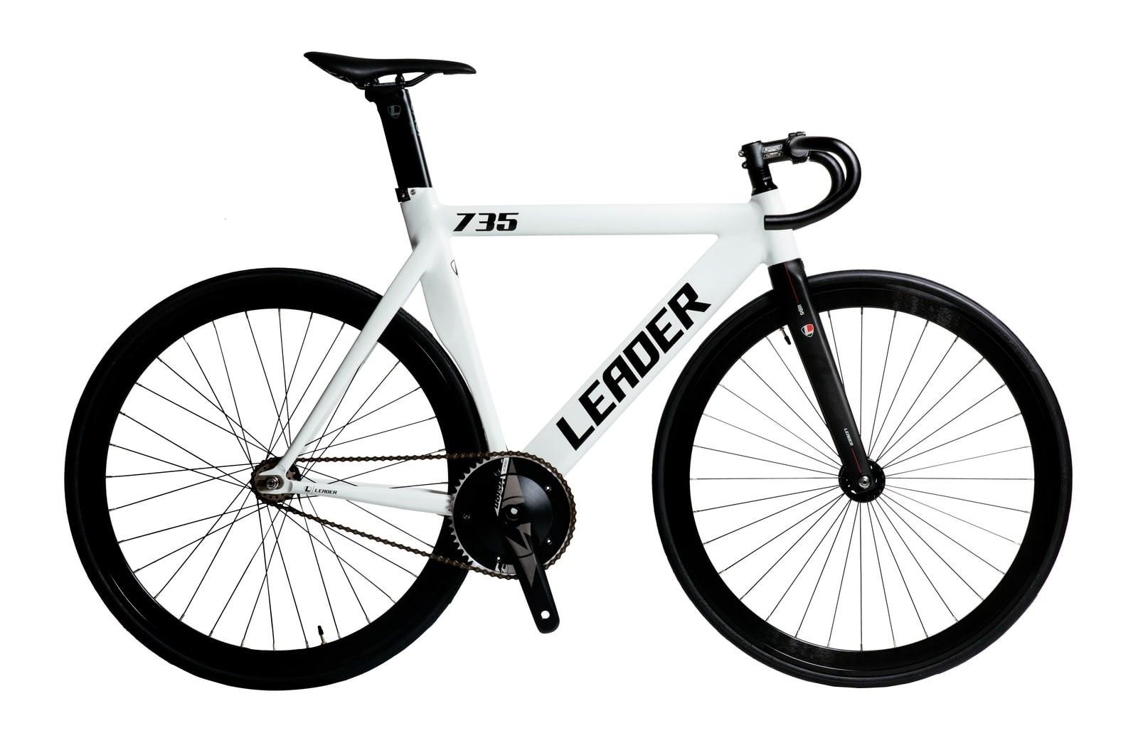 ピストバイク 完成車 LEADER BIKES 735TR COMPLETE BIKE WHITE リーダー バイク 735TR コンプリートバイク ホワイト