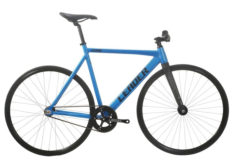 ピストバイク 完成車 LEADERBIKE The Cure Candy Blue リーダーバイクス キュアー キャンディーブルー