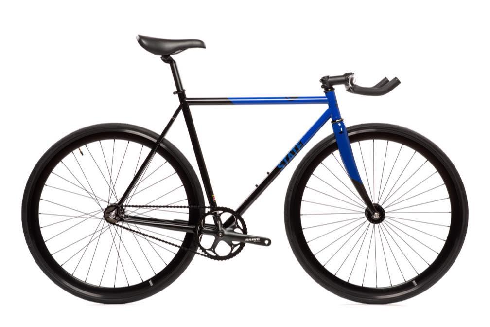 ピストバイク 完成車 STATE BICYCLE CONTENDER II Blue(ステイトバイシクル コンテンダー2 ブルー) PISTBIKE