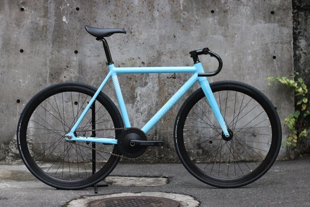 ピストバイク 完成車 STATEBICYCLE Undefeated2 Photon Blue Edition ステイトバイシクル アンディフィーテッド2 フォートンブルー エディション PISTBIKE