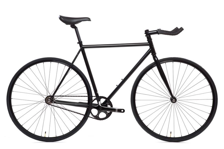 ピストバイク 完成車 STATE BICYCLE ステイトバイシクル Matte Black マットブラック 6 PISTBIKE