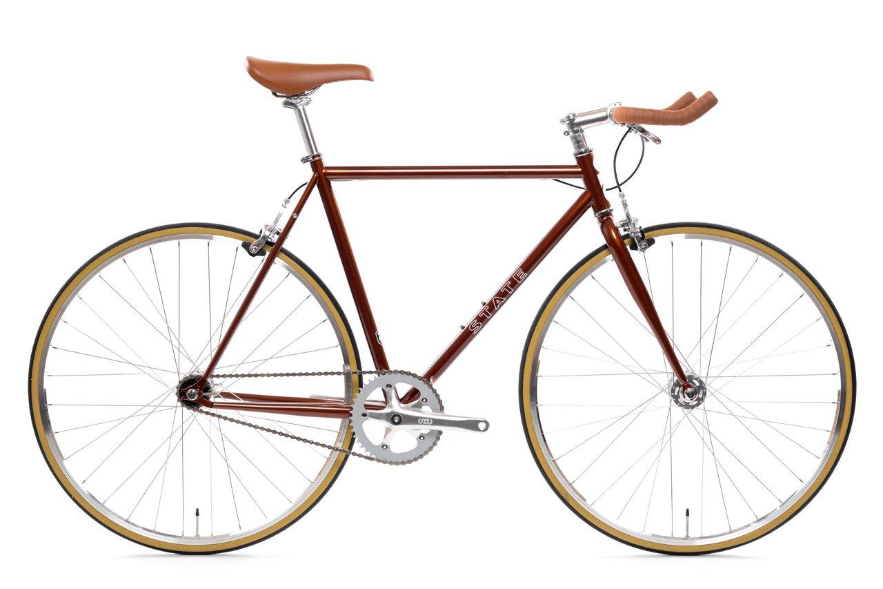 ピストバイク 完成車 STATE BICYCLE 4130 Sokol ステイトバイシクル パープル PISTBIKE