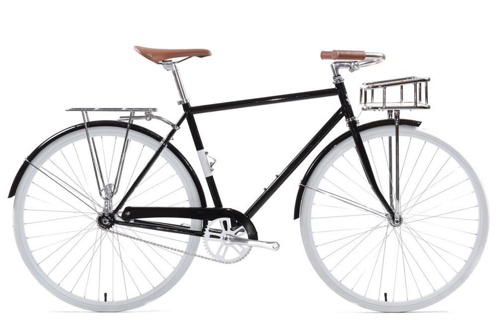 ピストバイク 完成車 State Bicycle KARLMICHAEL DELUXE Bicycle Black【ステイトバイシクル カールマイケル デラックス】 PISTBIKE
