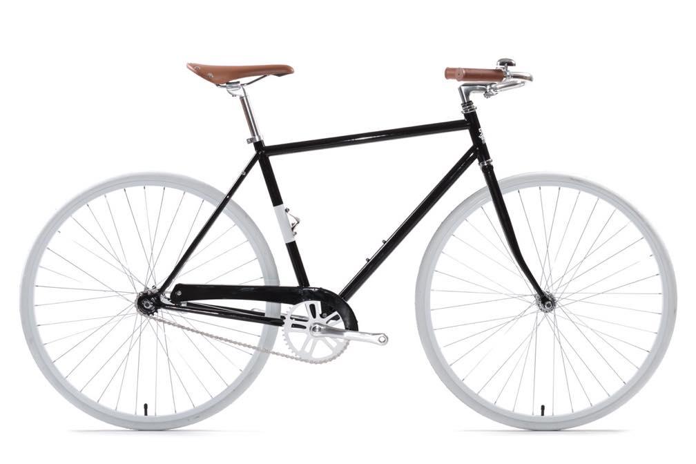 ピストバイク 完成車 State Bicycle KARLMICHAEL Standard Bicycle Black【ステイトバイシクル カールマイケル デラックス】 PISTBIKE