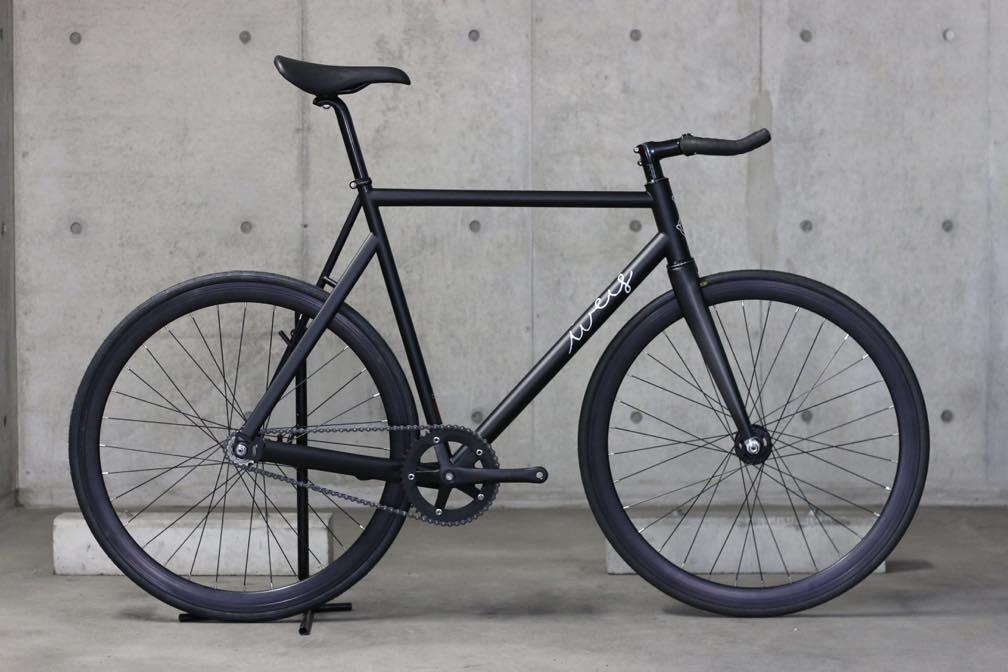 ピストバイク 完成車 Weis Manufacturing Hammer Steel COMPLETE BIKE BLACK ウェイス マニュファクチャリング ハマー スチール コンプリートバイク ブラック PISTBIKE