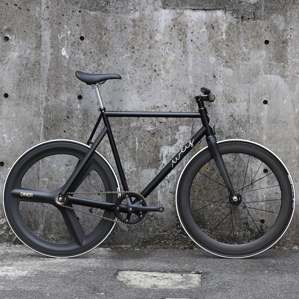 ピストバイク 完成車 Weis Manufacturing Hammer Steel CUSTOM BIKE BLACK ウェイス マニュファクチャリング ハマー スチール カスタム バイク ブラック PISTBIKE