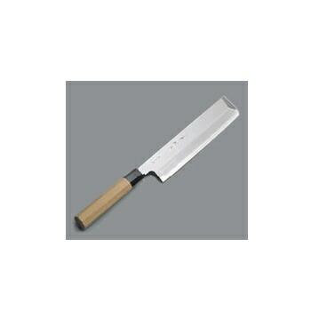 送料無料 高い素材 値下げ 薄刃庖丁 銀三鋼 兼松作 18cm