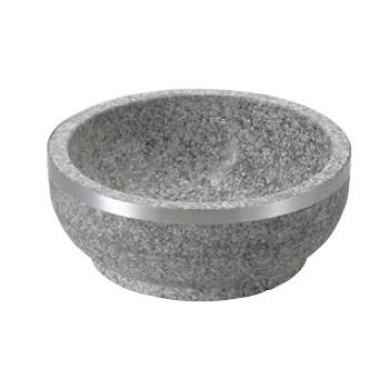 石焼ビビンバ 補強上リング付 セール商品 長水遠赤 最安値 15cm