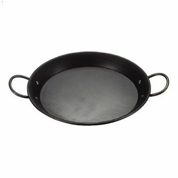 送料無料 セール 実物 パエリア鍋 鉄製 90cm