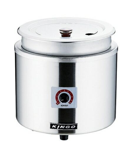 KINGO(キンゴー) 湯煎式電気スープジャー 11L D9001 (DSC2601)