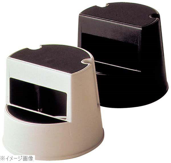 ラバーメイド ステップスツール 安全 丸型 激安格安割引情報満載 ブラック 2523
