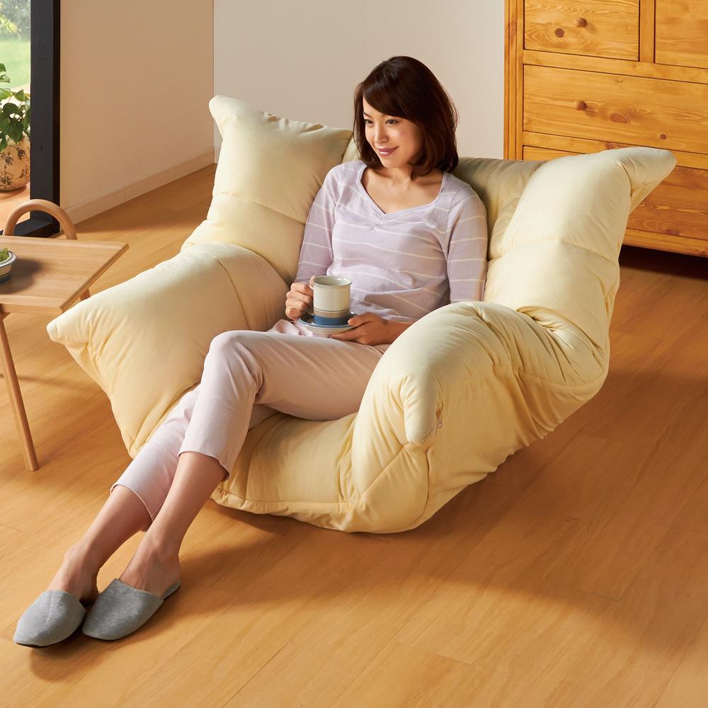 マルチリクライニング コンパクトソファ(座椅子) スタンダードタイプ LR0136