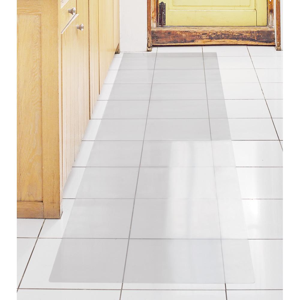 幅270cm奥行60cm(アキレス 透明キッチンフロアマット(抗菌仕様)) 528906