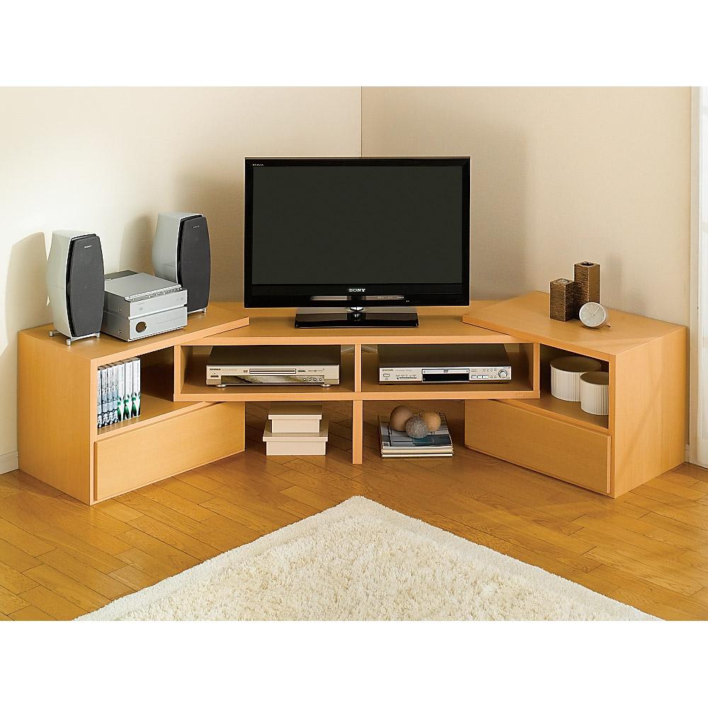 すっきり、ぴったりが心地よい伸縮式テレビ台スイングローボード オープンタイプ幅123~234cm LR0338