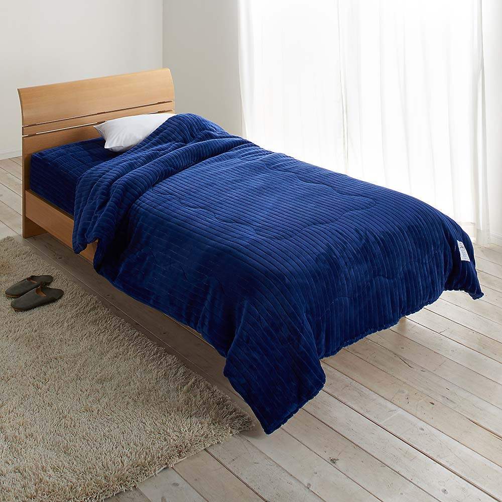 暖かさと肌へのやさしさを考えたFUWARMシリーズ お得な毛布+敷きセット 毛布+シーツ型敷きパッド シングル 725694