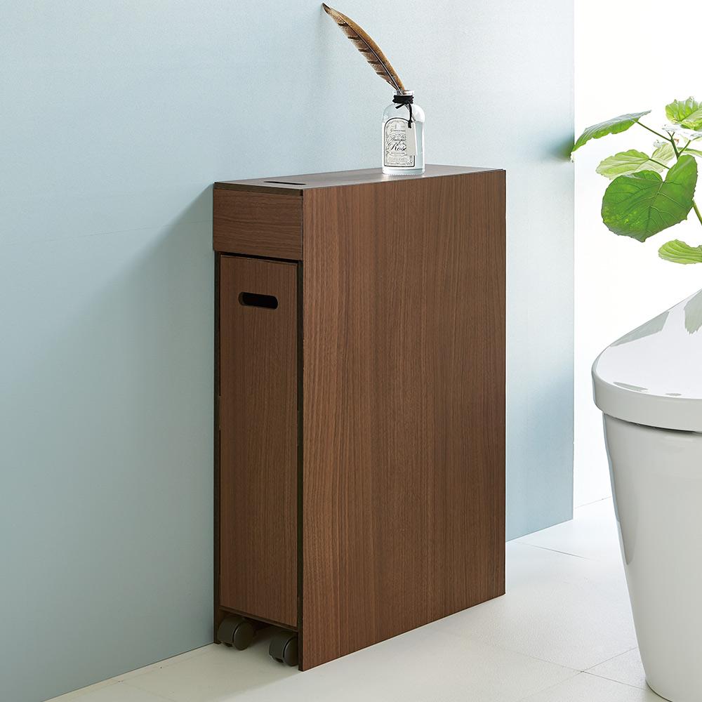 スライド式 トイレ 収納 コンパクトタイプ H55419